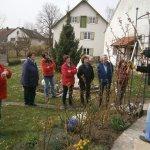 Rosenschneiden bei Hildegard